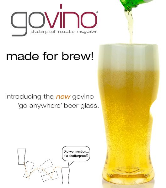Welcome to govino wine glasses- bpa free unbreakable wine and beer plasticware