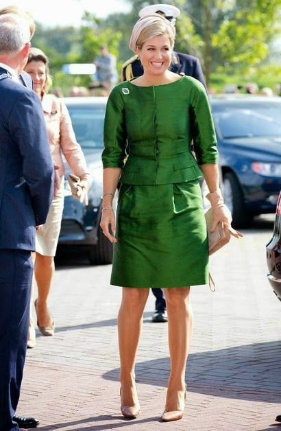Monday, September 15, 2014 King Willem-Alexander and Queen Maxima  attended the celebration of the tenth anniversary of the Protestant Church (PKN) at the Fontein Church in Nijkerk, The Netherlands.