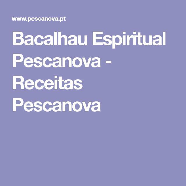 Bacalhau Espiritual Pescanova - Receitas Pescanova