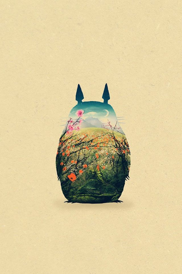 totoro iphone wallpapers and - photo #9