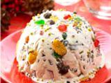Frozen Fruity Cream     Es krim yg diperkaya dengan aneka buah segar plus cokelat & cornflakes bukan hanya rasanya yang semakin enak tetapi teksturnya pun makin kaya lho!    resep : http://www.resepkita.com/detailResep.asp?recId=380