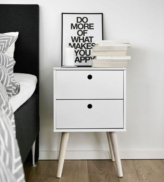 functional bedroom furniture. bring a touch of scandinavian style to your bedroom nightstand with functional storage keep furniture n