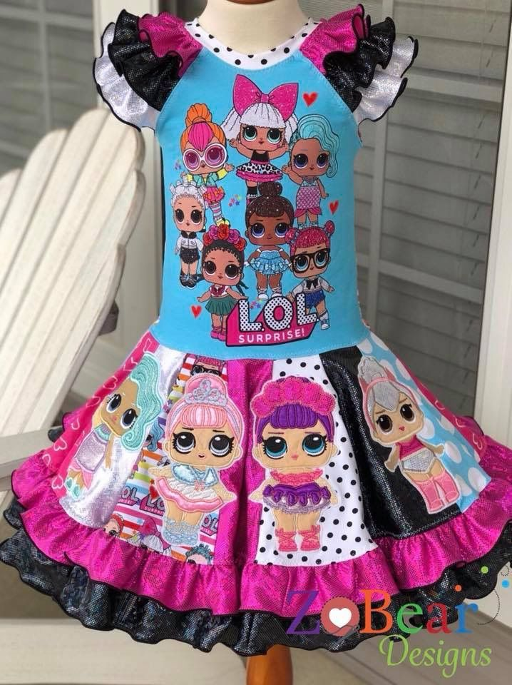 New lol surprise dolls Game Girls Dresses Skirts Fancy dress up party gifts UK