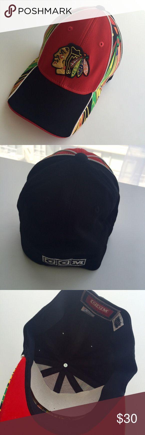 🔥 Chicago Blackhawks Hat NWOT NHL Chicago Blackhawks hockey hat. NWOT. perfect condition! Accessories Hats