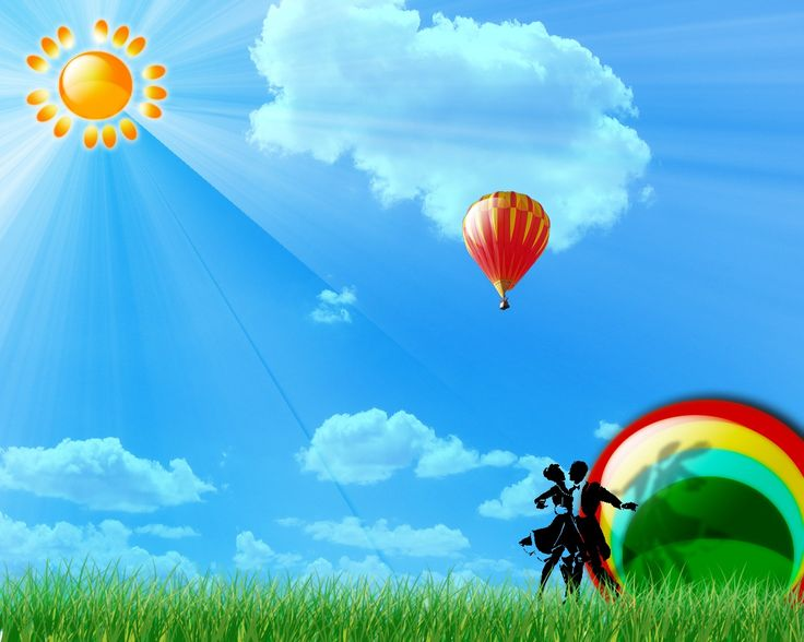 D Gas Balloon Wallpapers very beautiful and much