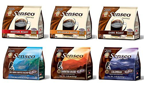 Senseo Coffee Variety Pack Sampler -6-flavor (Pack of 6) * More info could be found at the image url.