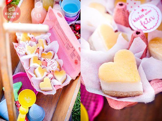 Playdate, Snacks, Käsekuchen, Herzen, Kuchen - Pralinen, Ausstechform,