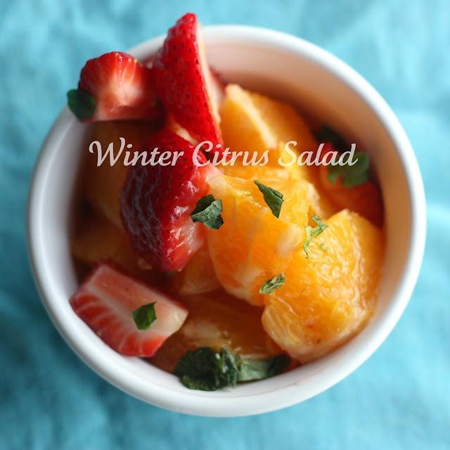 Winter Citrus Salad | Foodie Healthier Alternative | Pinterest
