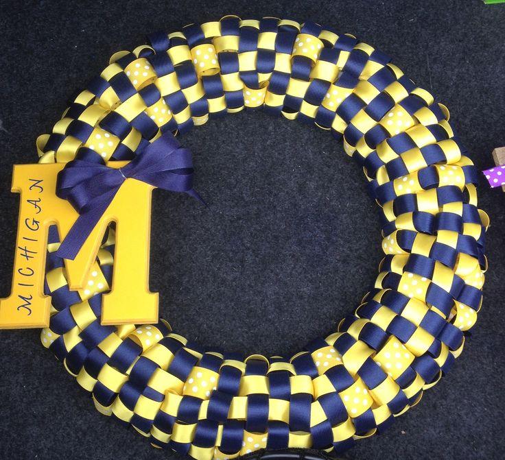 U of M Wreath