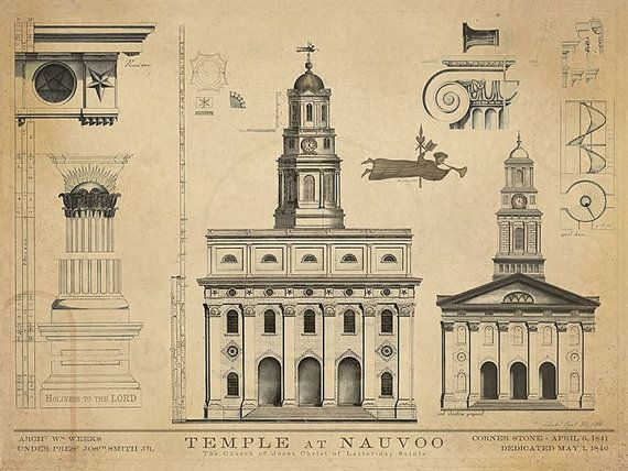 Hey, I found this really awesome Etsy listing at http://www.etsy.com/listing/172560944/nauvoo-temple-blueprints-1840-art