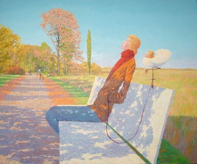 Peaceful Day by Mikhail Golubev