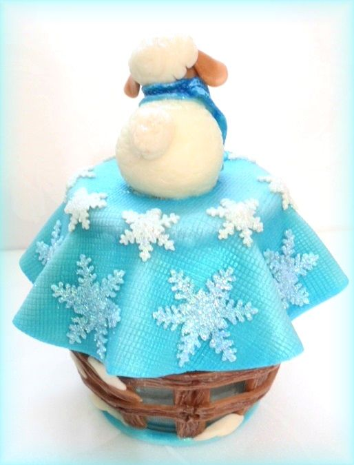 новый год овца барашек
