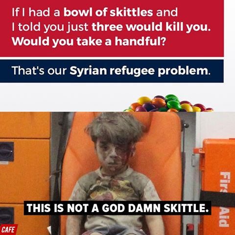 Donald J. Trump's human sewer of a son tweeted this awful Skittles analogy yesterday, in case you need another reason to hate him.