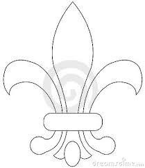 R sultats de recherche d 39 images pour dessin d 39 une fleur de lys napperons courtes pointes - Symbole fleur de lys ...