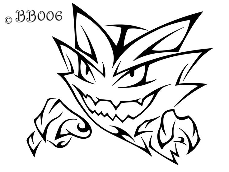Tribal Haunter  Commission by blackbutterfly006.deviantart.com on @deviantART