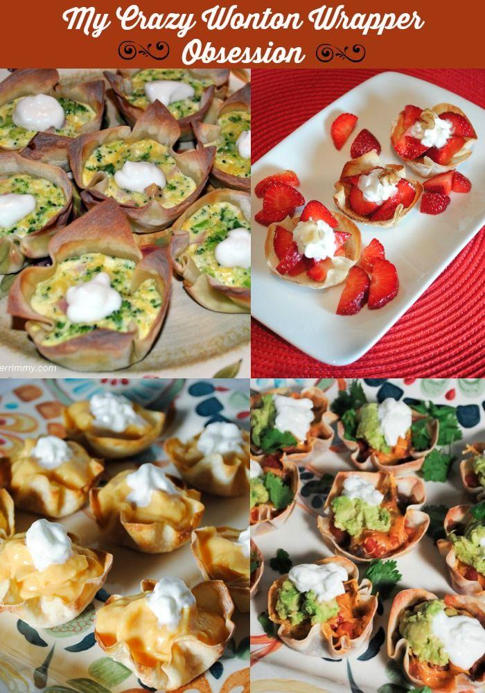 Wonton Wrapper Dessert and Appetizer Recipes http://us4.campaign-archive2.com/?u=ef81d70ebd4a51b33a2be1b95&id=e750a487ec #holidayappetizers #holidaydesserts