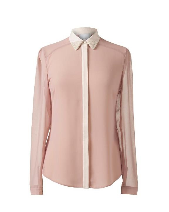 Primark pastel blouse. Dress up or down with smart trousers or denim.