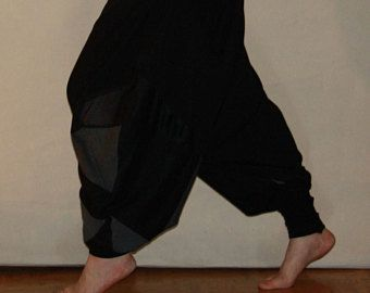 Harem Pants,Psy trance Goa,Pants,schwarz,Pluderhose,Party Pants,Festival clothing,Psy wear