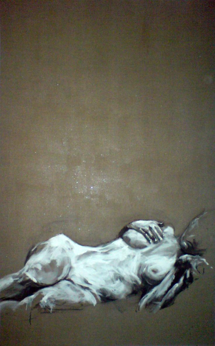 LAYRAL 386 PEINTO Huile sur toile (125x200(2007)