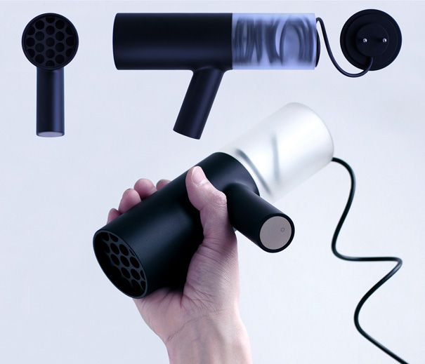 Hot hair dryer by Industrial Facility