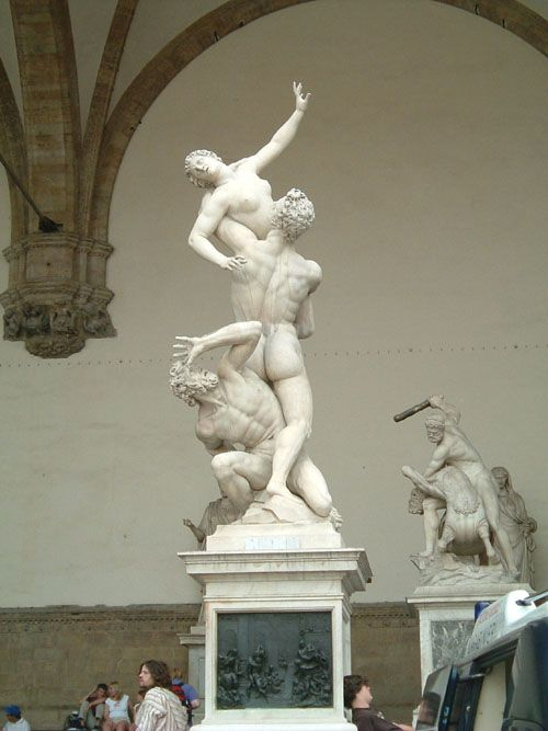 Twin Souls: The Rape of the Sabine Women