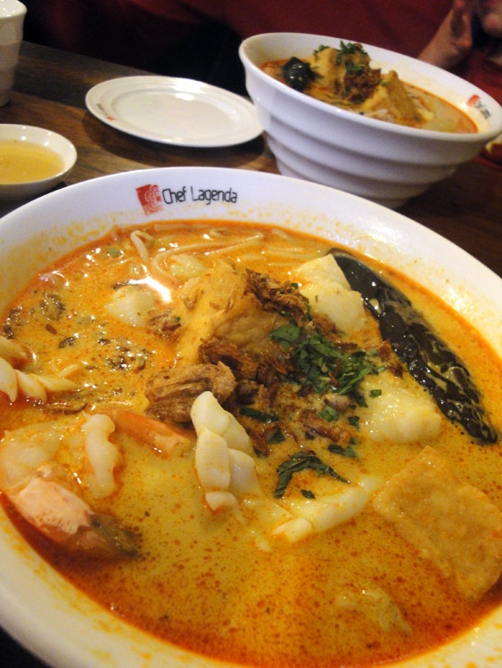 Seafood Laksa from Chef Lagenda