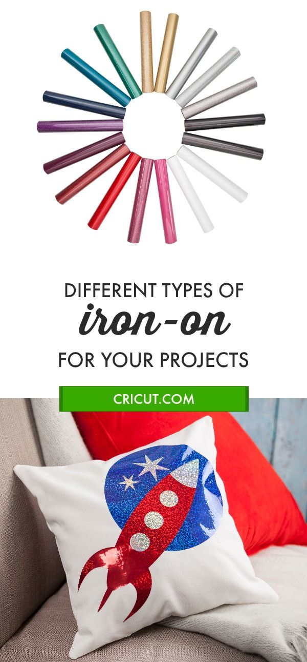 What to Know About Different Types of Cricut Iron-on