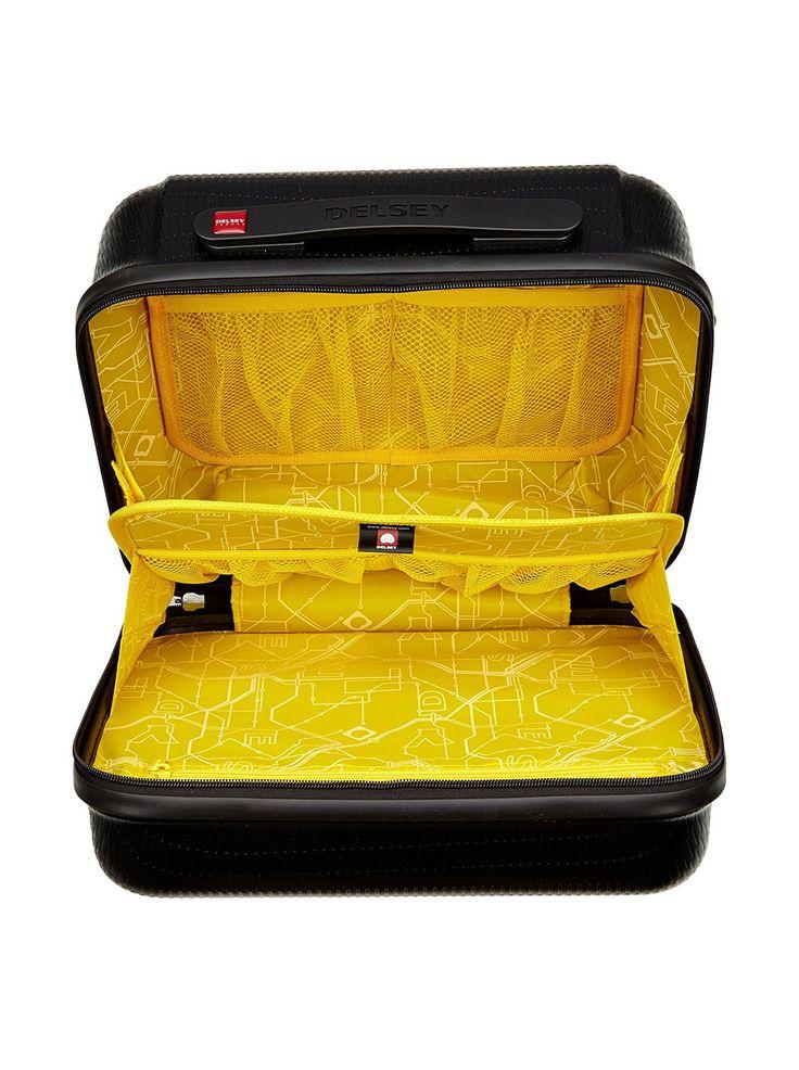 DELSEY Vanity Helium 24 L (noir) 001606310: Amazon.fr: Bagages