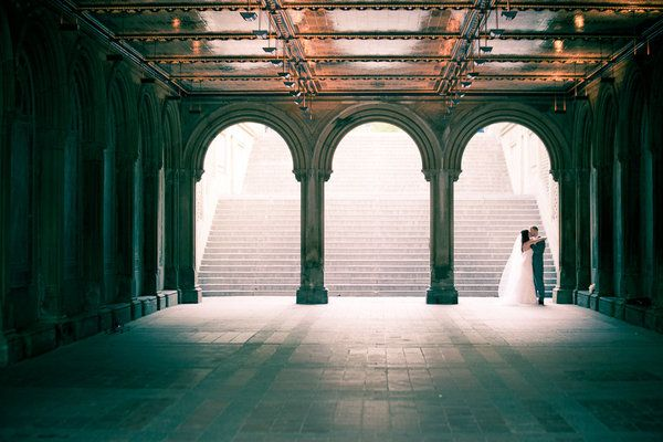 The Central Park Boathouse Marriage ceremony by Adagion Life-style Images + loli occasions