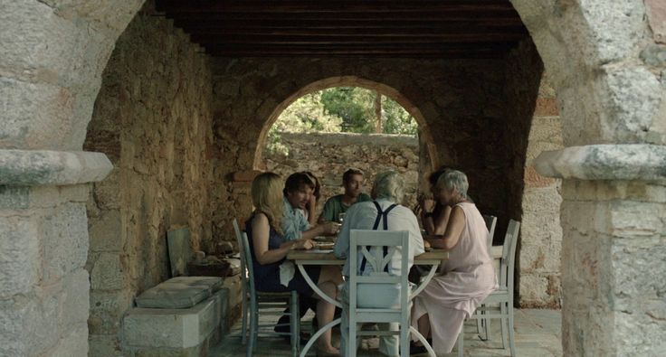 a lunch in Greece// Before Midnight Patrick Leigh Fermor's house - Kardamyli, Messinia, Greece