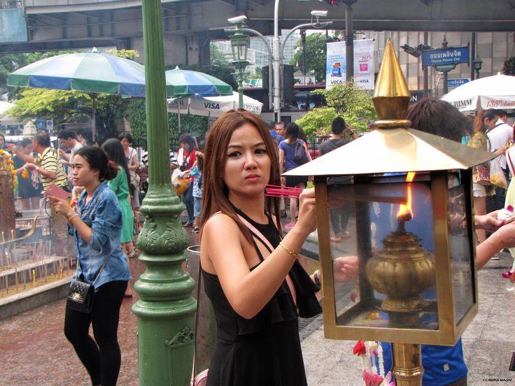 #Bangkok, at the #temple. #AroundAsia
