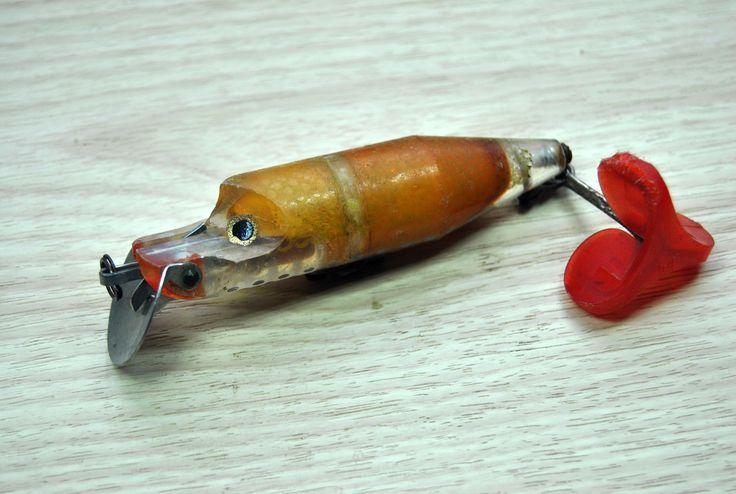 Vintage fishing lure ABU HI-LO wobbler. by VintageParsel on Etsy