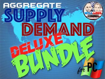 THIS IS IT!!! Every single lecture and activity that you need to plan the perfect unit on aggregate supply and demand offered in a single bundle! Are you looking to add state of the art, engaging, and impactful activities and PowerPoints to your classroom arsenal, but don't have the time to create it all?