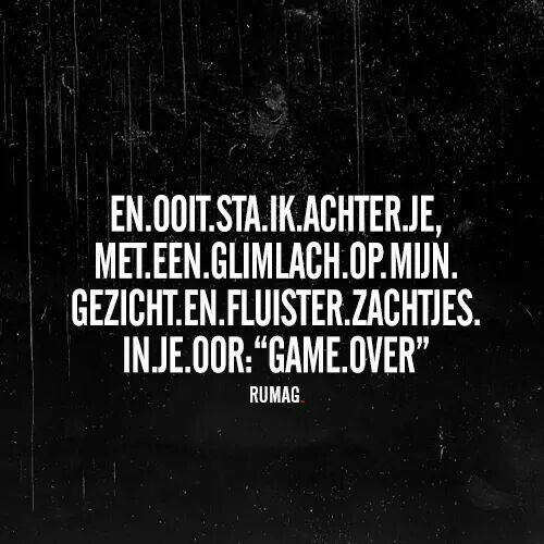 Game over! #Rumag