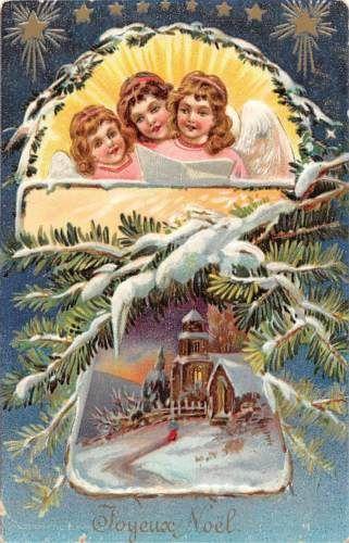 Joyeux-Noel-Christmas-Fantasy-Cherubs-Angels-Carol-Song-Stars