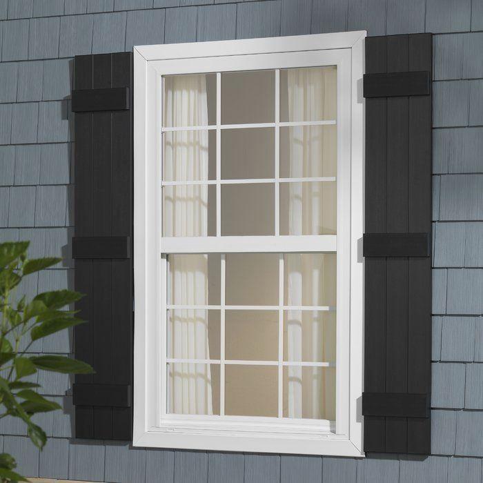 Wood Shutters Window Shutters Inside Silk In 2020 Brick Exterior House Shutters Exterior Board And Batten Shutters