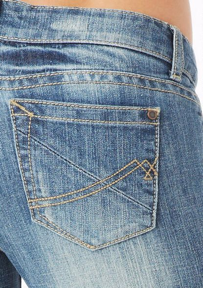 Hot Kiss Embellished Jean. Add some sparkle to your outfit with Hot Kiss…