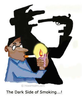 Harmful effects of nicotine
