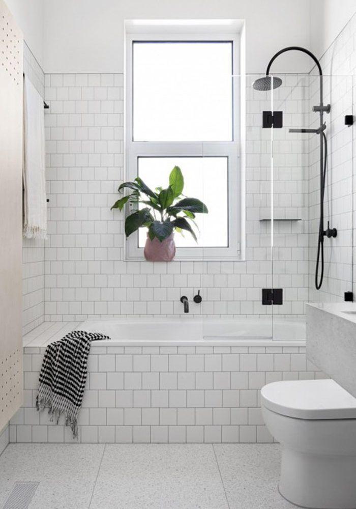 Gröna växter är fortfarande en stark inredningstrend – även i badrummet. Här är sju tips på hur du kan piffa badrummet med krukväxter.