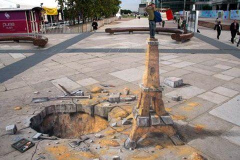 eifel tower art