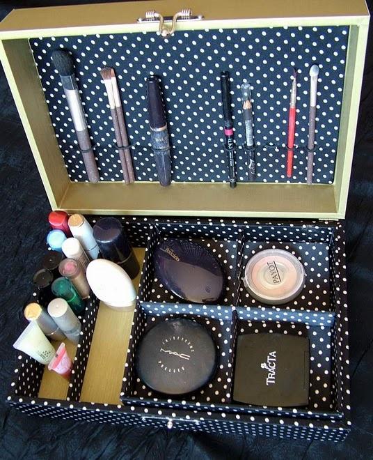 7 best Diy makeup storage images on Pinterest Organization ideas