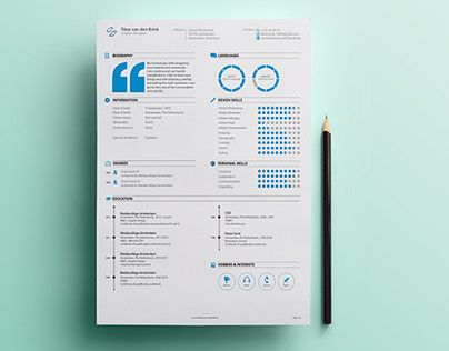 104 best Resumes images on Pinterest Resume design, Creative - interactive resume