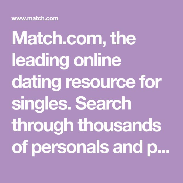 Search singles on match