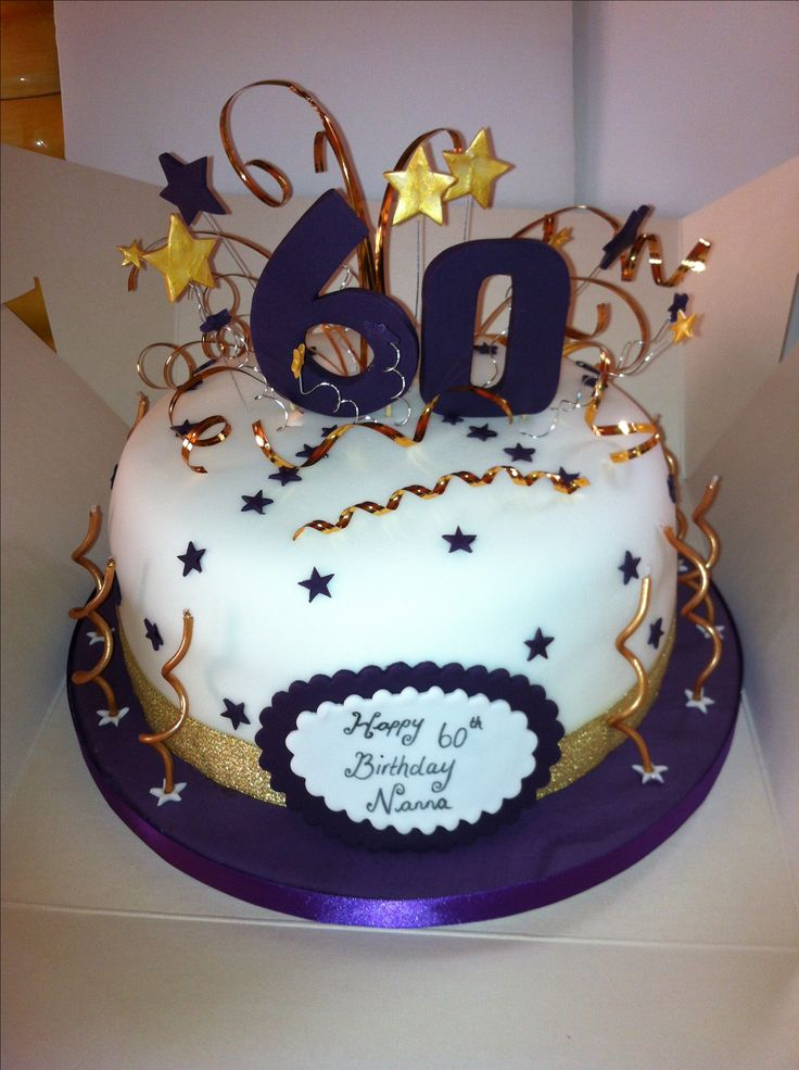 Cake Designs For 60th Birthday : 60th Birthday Cake Sealife Pinterest Birthdays ...