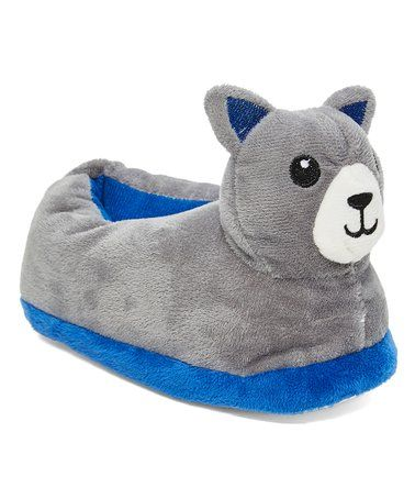 63cd26c8368 Loving this Coyote Faux Fur Slipper - Kids on  zulily!  zulilyfinds