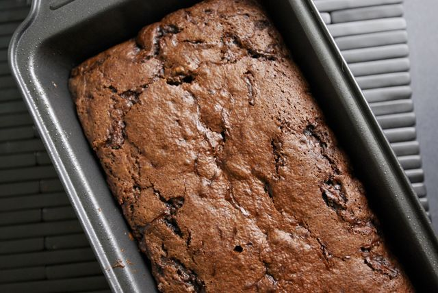 Chocolate Zucchini Bread - used Hershey's special dark cocoa, added a ...
