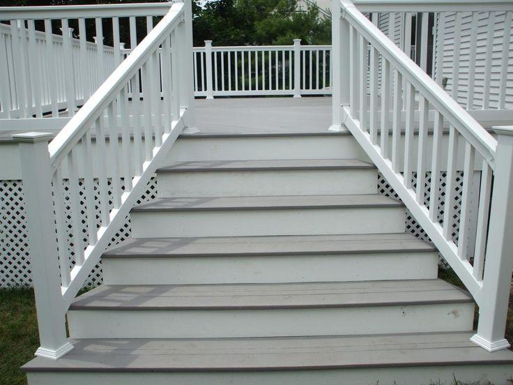 24 best Exterior Stair Railing images on Pinterest | Railing ideas ...