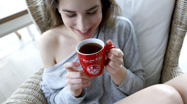 Zimowe dni aż proszą się o kubek gorącej herbaty i wygodny fotel :)