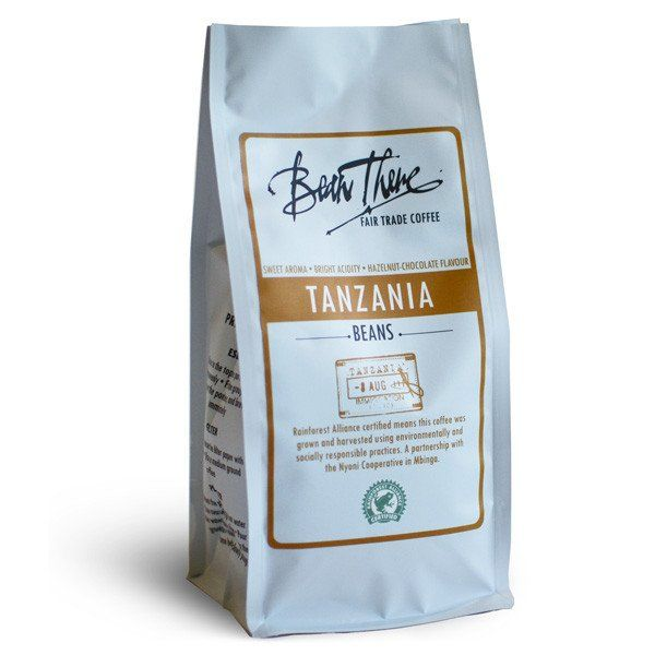 This Rainforest Alliance Certified coffee from Tanzania has a wildly sweet aroma with a bright acidity, silky body and creamy caramel flavours