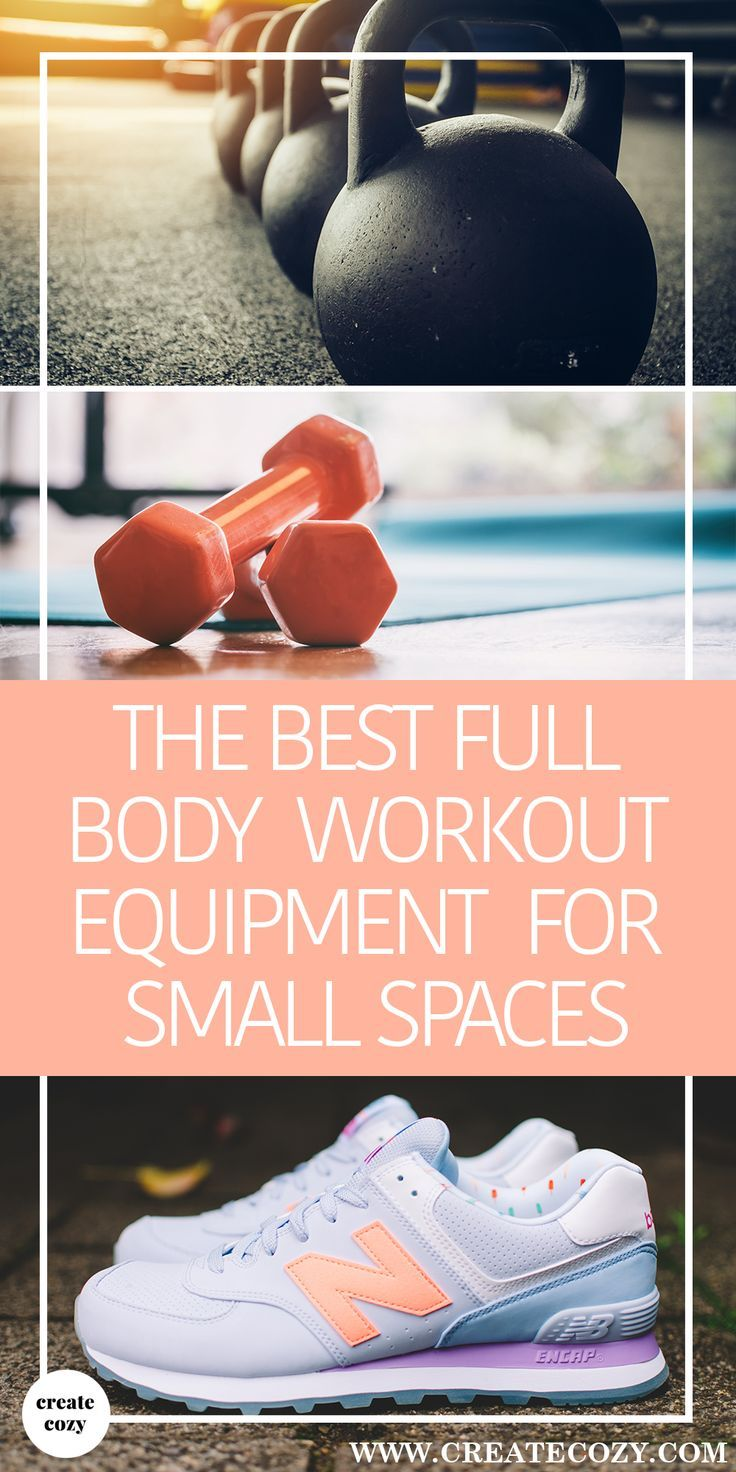 No space for a home gym? See our rundown of the best exercise equipment for a full body workout that will also fit in even the tiniest of cozy homes!